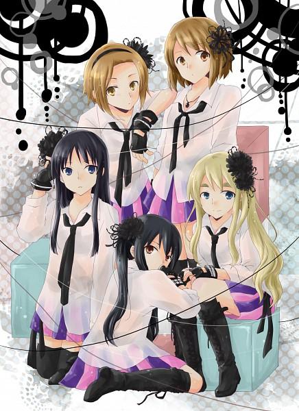 Tags: Anime, Kinako (goboshi), K-ON!, Kotobuki Tsumugi, Akiyama Mio, Hirasawa Yui, Nakano Azusa, Tainaka Ritsu, AKB48 (Cosplay), Beginner, Mobile Wallpaper
