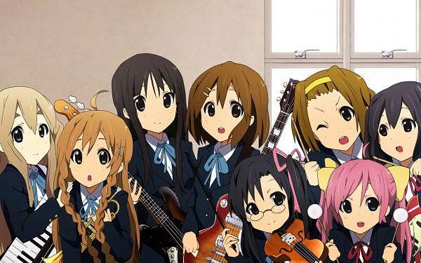 Tags: Anime, K-ON!, Suenaga Mirai, Hirasawa Yui, Fan Character, Hirasawa Ui, Miura Akane, Saito Sumire, Tainaka Ritsu, Suenaga Haruka, Kotobuki Tsumugi, Nakano Azusa, Hoshikawa Kanata