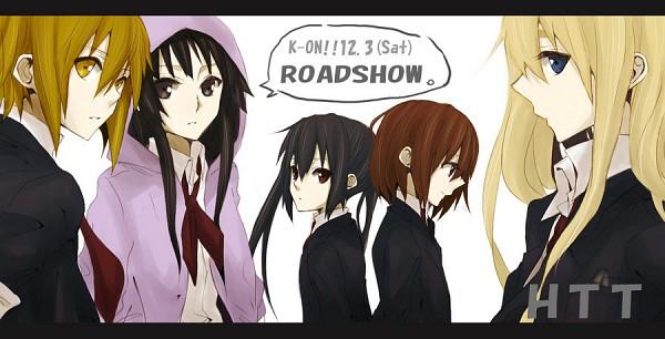 Tags: Anime, Gogo Pan, K-ON!, Hirasawa Yui, Nakano Azusa, Tainaka Ritsu, Kotobuki Tsumugi, Akiyama Mio, Facebook Cover