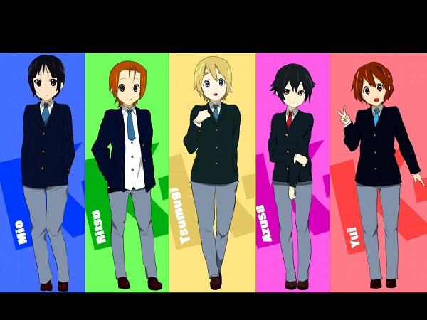 Tags: Anime, Pixiv Id 1546785, K-ON!, Akiyama Mio, Nakano Azusa, Hirasawa Yui, Tainaka Ritsu, Kotobuki Tsumugi, Fanart From Pixiv, Pixiv, Fanart