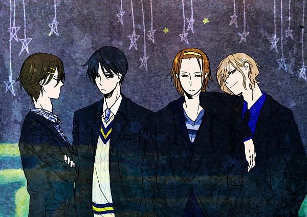 Tags: Anime, Pixiv Id 434802, K-ON!, Hirasawa Yui, Tainaka Ritsu, Kotobuki Tsumugi, Akiyama Mio, Pixiv, Fanart, Fanart From Pixiv