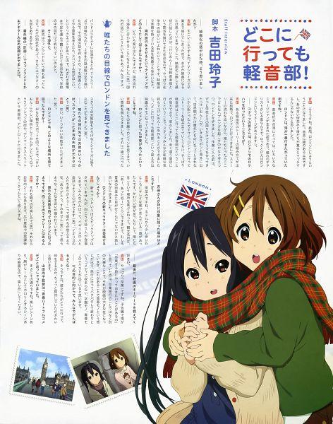 Tags: Anime, Horiguchi Yukiko, Kyoto Animation, K-ON!, Nakano Azusa, Hirasawa Yui, Official Art, K-ON! (Movie)