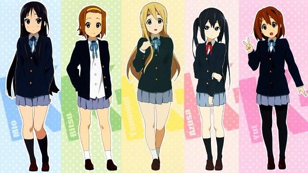 Tags: Anime, Horiguchi Yukiko, K-ON!, Nakano Azusa, Tainaka Ritsu, Kotobuki Tsumugi, Akiyama Mio, Hirasawa Yui, HD Wallpaper, Wallpaper, Facebook Cover, Official Art