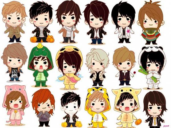 Tags: Anime, Choi Si Won, Changmin, Kim Ki Bum, Kim Ryeo Wook, Lee Dong Hae, Yunho, Kim Young Woon, Lee Sung Min, Lee Hyuk Jae, Junsu, Kim Hee Chul, Kim Jong Woon