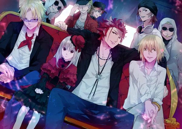 Tags: Anime, Tacumi, K Project, Kusanagi Izumo, Kamamoto Rikio, Suoh Mikoto, Kushina Anna, Totsuka Tatara, Yata Misaki, Fanart