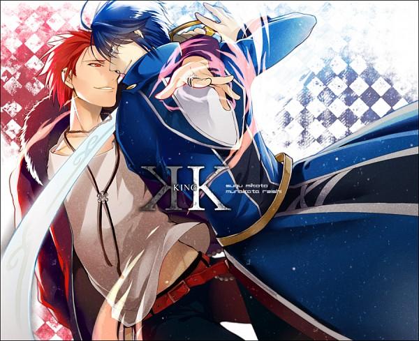 Tags: Anime, Yukimi (Pixiv779155), K Project, Munakata Reisi, Suoh Mikoto, Pixiv