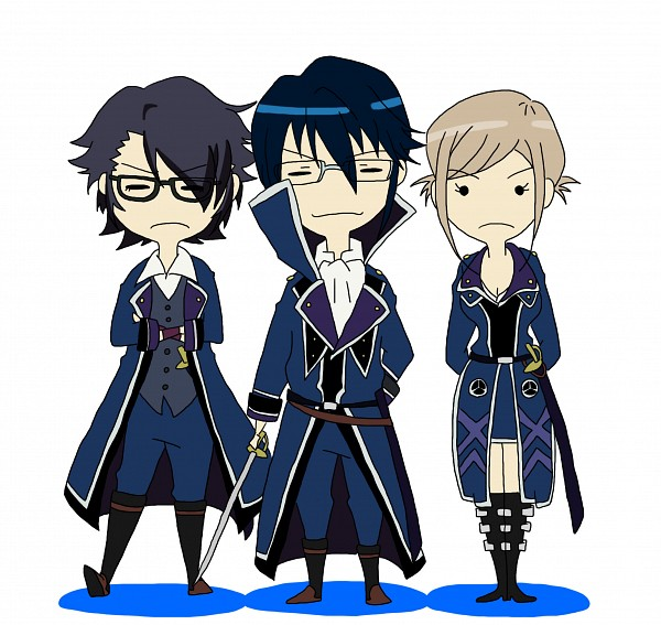Tags: Anime, Pixiv Id 2007570, K Project, Awashima Seri, Fushimi Saruhiko, Munakata Reisi, Fanart From Pixiv, Pixiv, Fanart