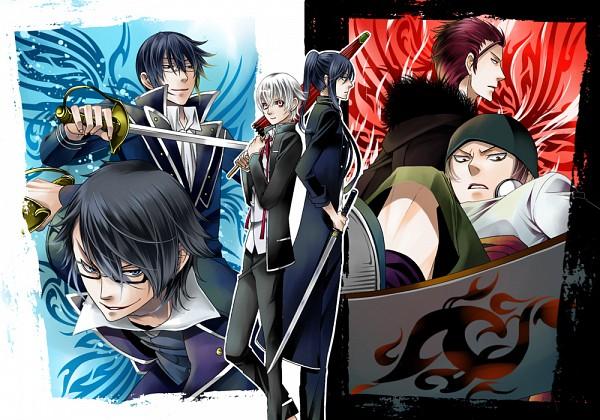 Tags: Anime, Pixiv Id 4378698, K Project, Yatogami Kuroh, Fushimi Saruhiko, Isana Yashiro, Munakata Reisi, Suoh Mikoto, Yata Misaki, Fanart, Fanart From Pixiv, Pixiv