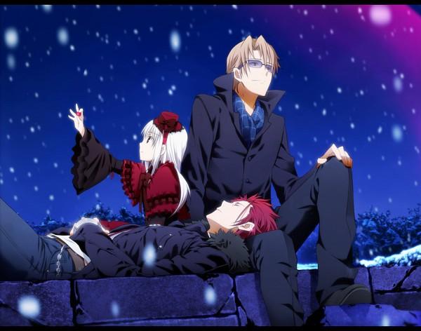 Tags: Anime, Yun (Neo), K Project, Kushina Anna, Kusanagi Izumo, Suoh Mikoto, Fanart