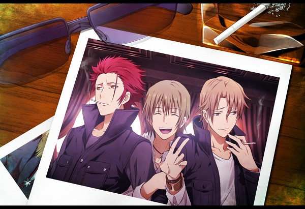 Tags: Anime, Yun (Neo), K Project, Kusanagi Izumo, Suoh Mikoto, Totsuka Tatara, Pixiv, Fanart, Fanart From Pixiv