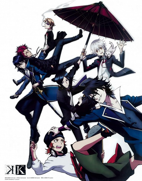 Tags: Anime, Tachibana Masayuki, Ishimori Ai, GoHands, K Project, Suoh Mikoto, Yata Misaki, Yatogami Kuroh, Kusanagi Izumo, Neko (K Project), Fushimi Saruhiko, Isana Yashiro, Munakata Reisi