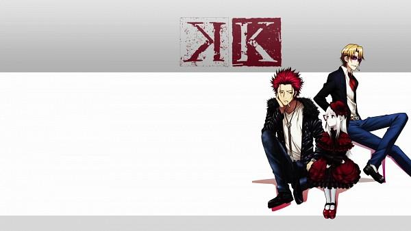 Tags: Anime, K Project, Suoh Mikoto, Kushina Anna, Kusanagi Izumo, HD Wallpaper, Facebook Cover, Official Art, Official Wallpaper, Wallpaper