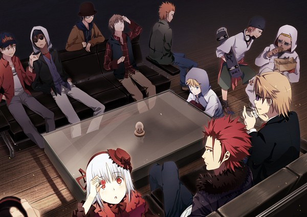Tags: Anime, Pixiv Id 769995, K Project, Dewa Masaomi, Kusanagi Izumo, Eric Sutr, Akagi Shouhei, Suoh Mikoto, Fujishima Kousuke (K Project), Kamamoto Rikio, Bando Saburouta, Kushina Anna, Chitose You