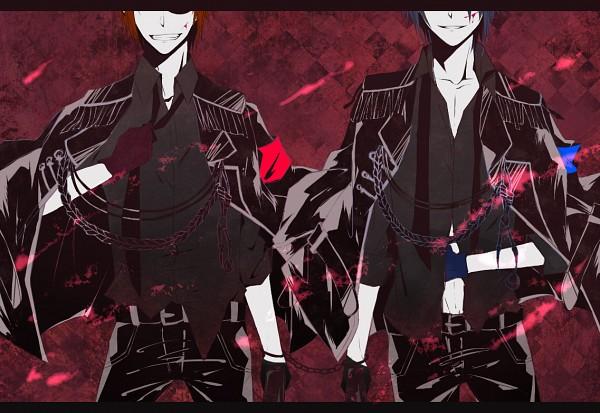 Tags: Anime, Pixiv Id 3200380, K Project, Yata Misaki, Fushimi Saruhiko