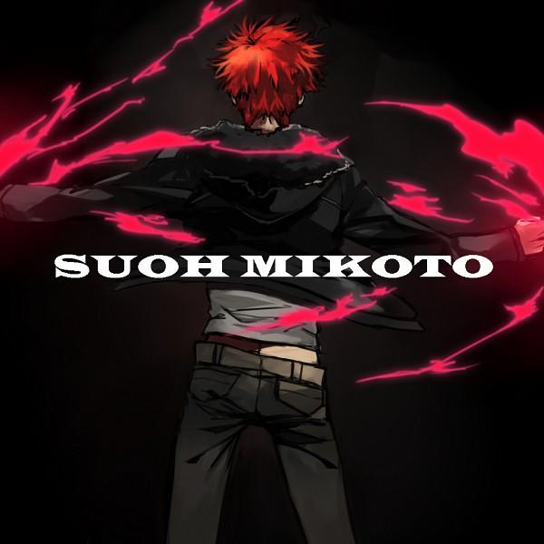 Tags: Anime, Pixiv Id 3935120, K Project, Suoh Mikoto, Black, Pixiv
