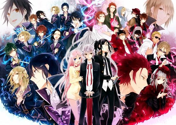 Tags: Anime, Kota Uro, K Project, Yatogami Kuroh, Kamamoto Rikio, Kusuhara Takeru, Kusanagi Izumo, Akiyama Himori, Kushina Anna, Neko (K Project), Fushimi Saruhiko, Kamo Ryuho, Isana Yashiro