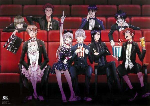 Tags: Anime, GoHands, K Project, Totsuka Tatara, Suoh Mikoto, Yata Misaki, Yatogami Kuroh, Neko (K Project), Kusanagi Izumo, Fushimi Saruhiko, Isana Yashiro, Kushina Anna, Munakata Reisi