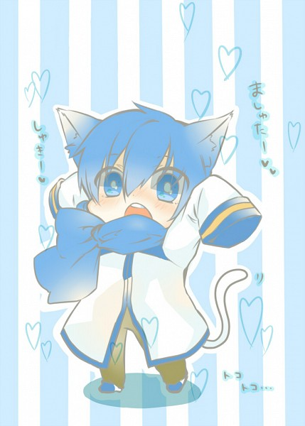 Tags: Anime, Pixiv Id 4554401, VOCALOID, KAITO, Fanart, Fanart From Pixiv, Pixiv, Mobile Wallpaper