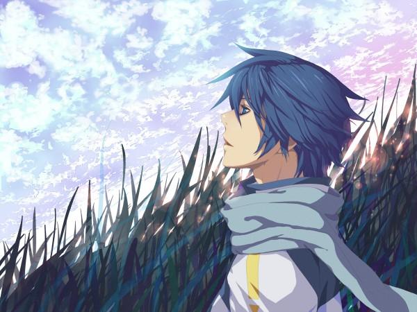 Tags: Anime, nayu, VOCALOID, KAITO, Pixiv, Wallpaper