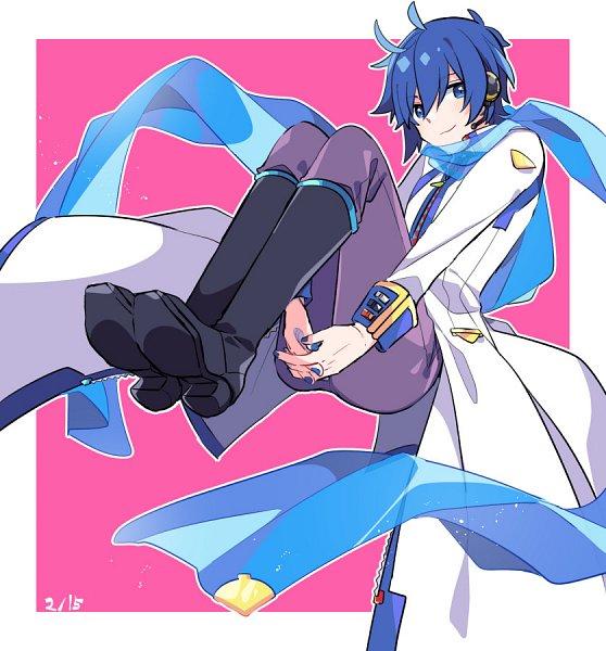 Tags: Anime, Yoshiki / 由杞, VOCALOID, KAITO, V3, Twitter