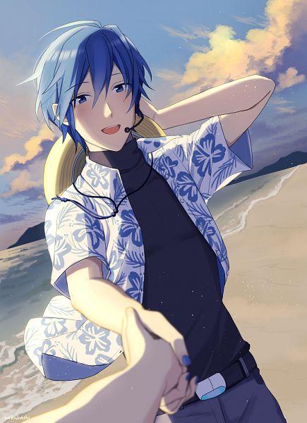 Tags: Anime, Nokuhashi, VOCALOID, KAITO, Fanart, Fanart From Pixiv, Pixiv