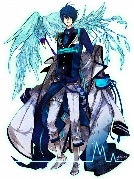 Tags: Anime, M (pixiv 2040308), VOCALOID, KAITO, Heartbeat, Pixiv
