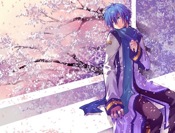 Tags: Anime, Shirotsugu, VOCALOID, KAITO, Fanart, Pixiv