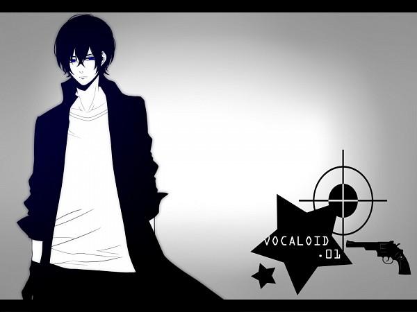 Tags: Anime, Moco 315, VOCALOID, KAITO, Revolver, Black★Rock Shooter (Cosplay)
