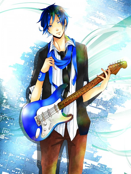 Tags: Anime, Pixiv Id 2329592, VOCALOID, KAITO