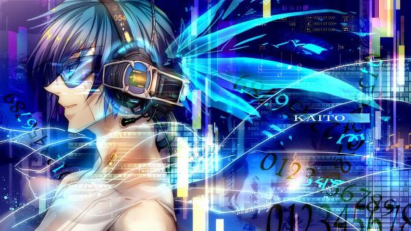 Tags: Anime, Yutifa*47, VOCALOID, KAITO, 1600x900 Wallpaper, Facebook Cover, Wallpaper, Fanart, Pixiv