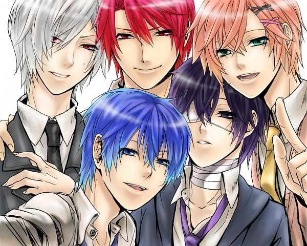 Tags: Anime, Thuyuki, VOCALOID, Taito, AKAITO, Kiaito, KAITO, KOITO, Howai, Yandereloid