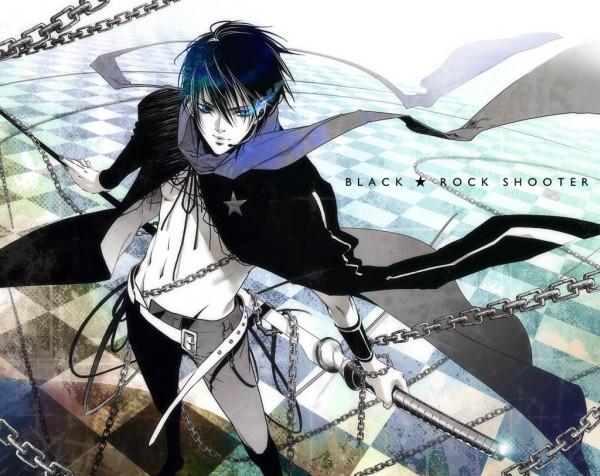 Tags: Anime, Hitomin, VOCALOID, KAITO, Black★Rock Shooter (Cosplay), Fanart, Pixiv
