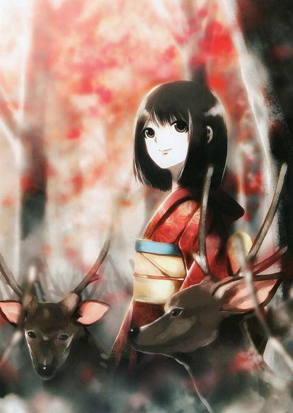 Tags: Anime, KEI (Pixiv4088), Original, Scan