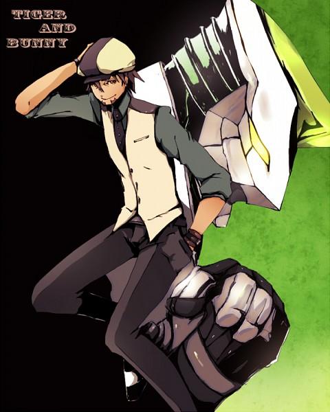 Tags: Anime, Yamada (fibm), TIGER & BUNNY, Wild Tiger, Kaburagi T. Kotetsu, Pixiv, Fanart