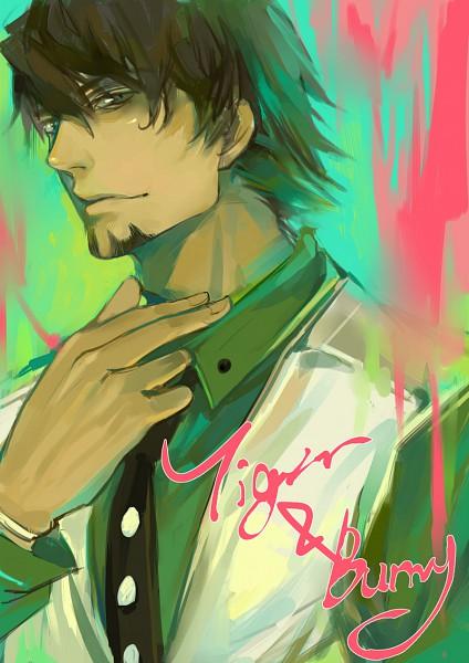 Tags: Anime, Pixiv Id 474137, TIGER & BUNNY, Kaburagi T. Kotetsu, Pixiv, Mobile Wallpaper, Fanart