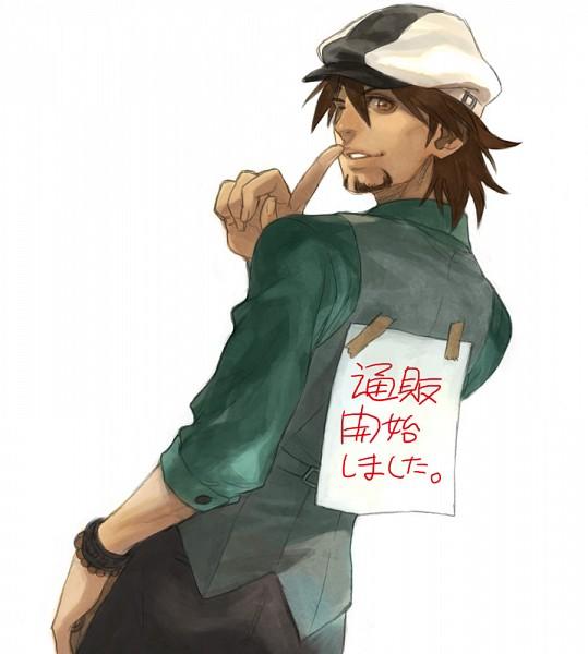 Tags: Anime, Asami You, TIGER & BUNNY, Kaburagi T. Kotetsu, Pixiv, Fanart