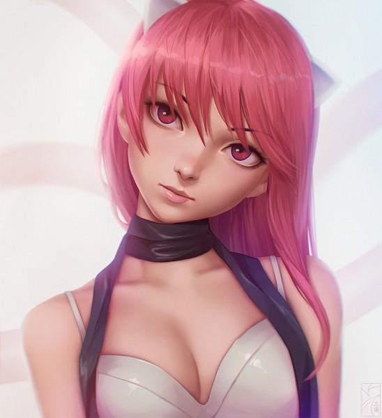 Tags: Anime, miura-n315, Elfen Lied, Kaede (Elfen Lied), PNG Conversion, Pixiv, Fanart, Fanart From Pixiv