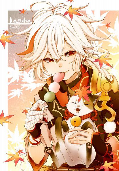 Tags: Anime, Pixiv Id 5354925, Genshin Impact, Kaedehara Kazuha