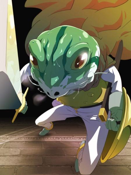 Tags: Anime, SQUARE ENIX, Chrono Trigger, Kaeru, Fanart