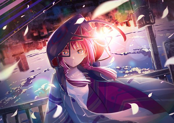 Tags: Anime, cluseller, Kaf (Channel), Kaf, Face Down, Fanart From Pixiv, Pixiv, Fanart