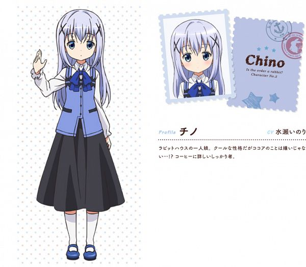 Kafuu Chino - Gochuumon wa Usagi Desu ka