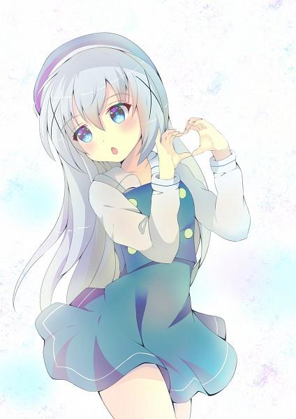 Tags: Anime, Sylux, Gochuumon wa Usagi Desu ka, Kafuu Chino, Self Made, Mobile Wallpaper