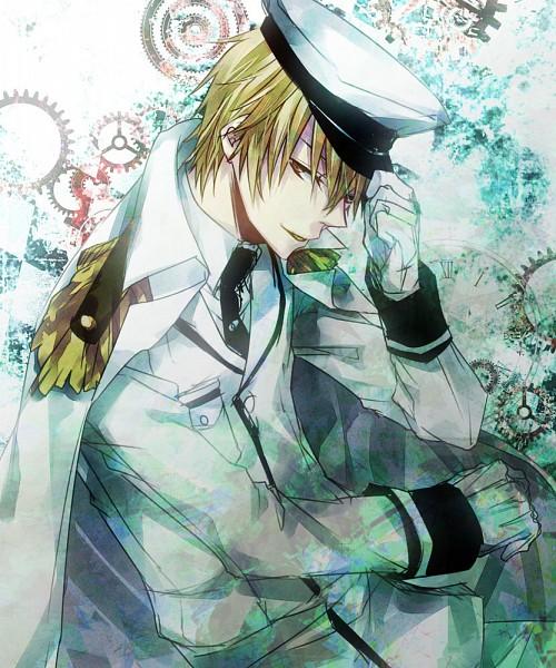 Tags: Anime, Mochikichi (Pixiv982644), CLOCK ZERO ~Shuuen no Ichibyou~, Kaga Akira, Pixiv, Fanart