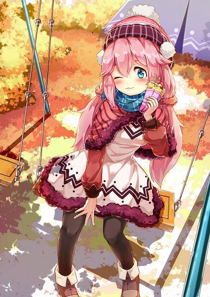 Tags: Anime, Pixiv Id 10592718, Yuru Camp, Kagamihara Nadeshiko