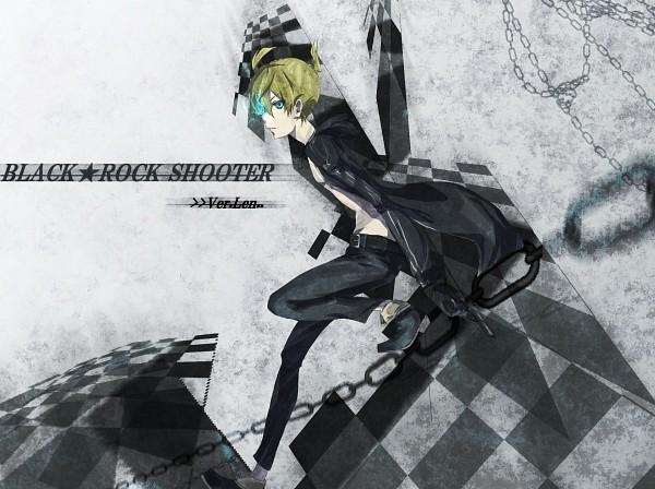 Tags: Anime, Tatsuka, VOCALOID, Kagamine Len, Black★Rock Shooter (Cosplay), Len Kagamine