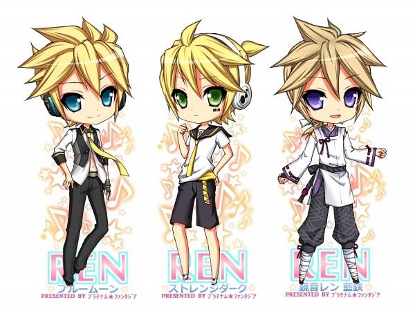 Tags: Anime, Pfxxx, Project DIVA Extend, Project DIVA F 2nd, VOCALOID, Kagamine Len, Barcode, Project DIVA Strange Dark, Project DIVA Aitetsu, Project DIVA Blue Moon, Len Kagamine