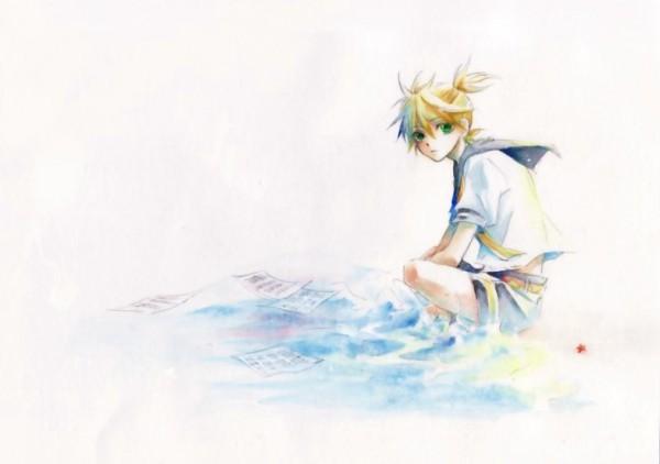 Tags: Anime, Hakuseki, VOCALOID, Kagamine Len, Len Kagamine