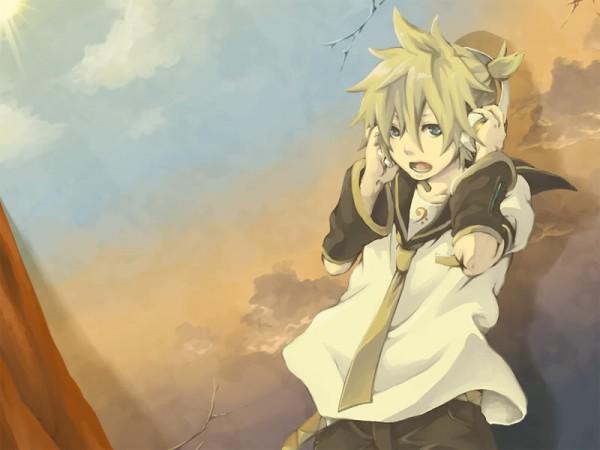 Tags: Anime, VOCALOID, Kagamine Len, Artist Request, Len Kagamine