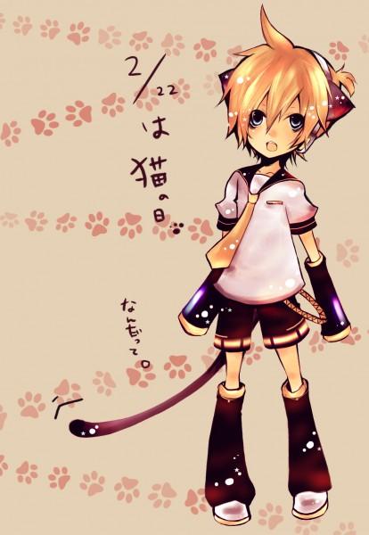 Tags: Anime, Pixiv Id 643509, VOCALOID, Kagamine Len, Len Kagamine