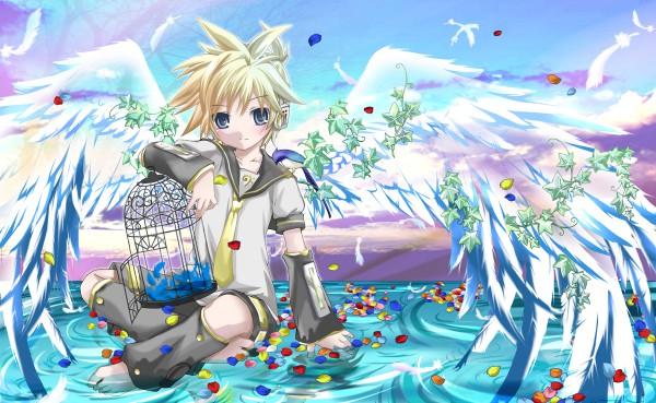 Tags: Anime, Hekicha, VOCALOID, Kagamine Len, Len Kagamine